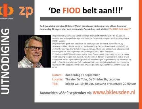 BKL en ZPoint bijeenkomst 12 september 2019