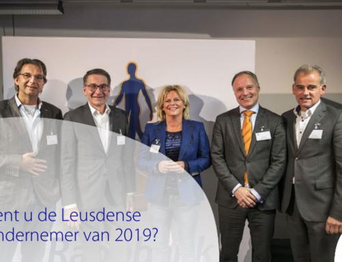 Save the date! Ondernemerscongres Leusden 29 oktober 2019