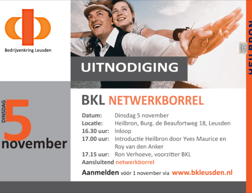 BKL netwerkbijeenkomst 5 november 2019